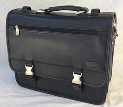 Bulky laptop briefcase business bag