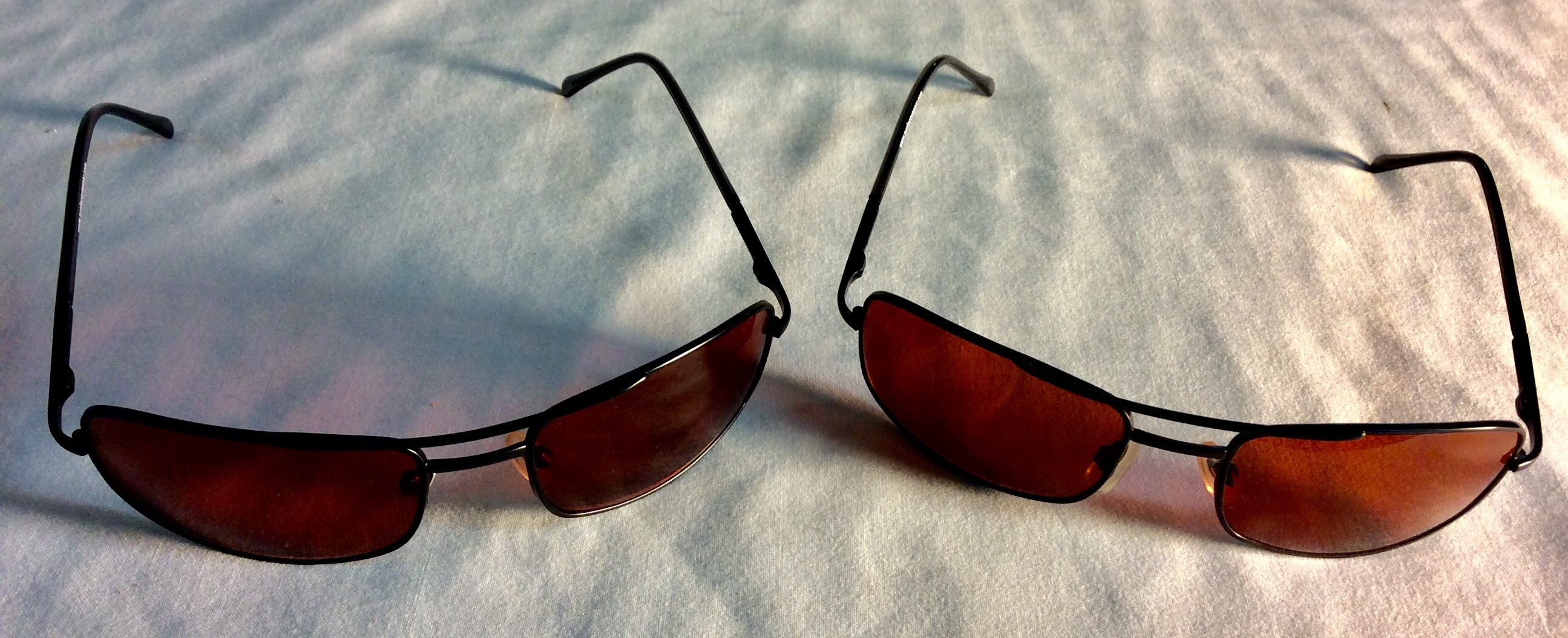 Bronze lenses sunglasses