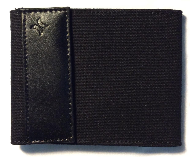 Hurley Black fabric wallet