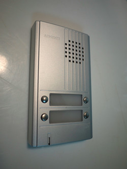 Wall mount security access