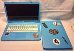 Working light blue HP Stream Laptop