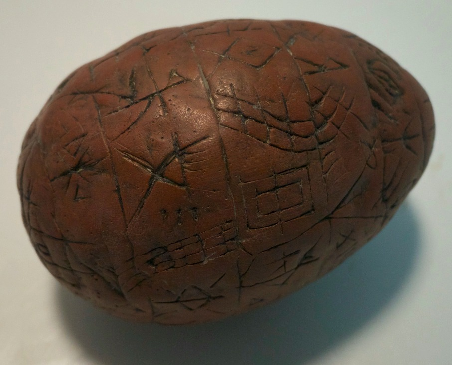 Engraved Egg