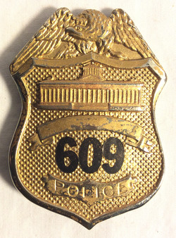 Police Chest Badges