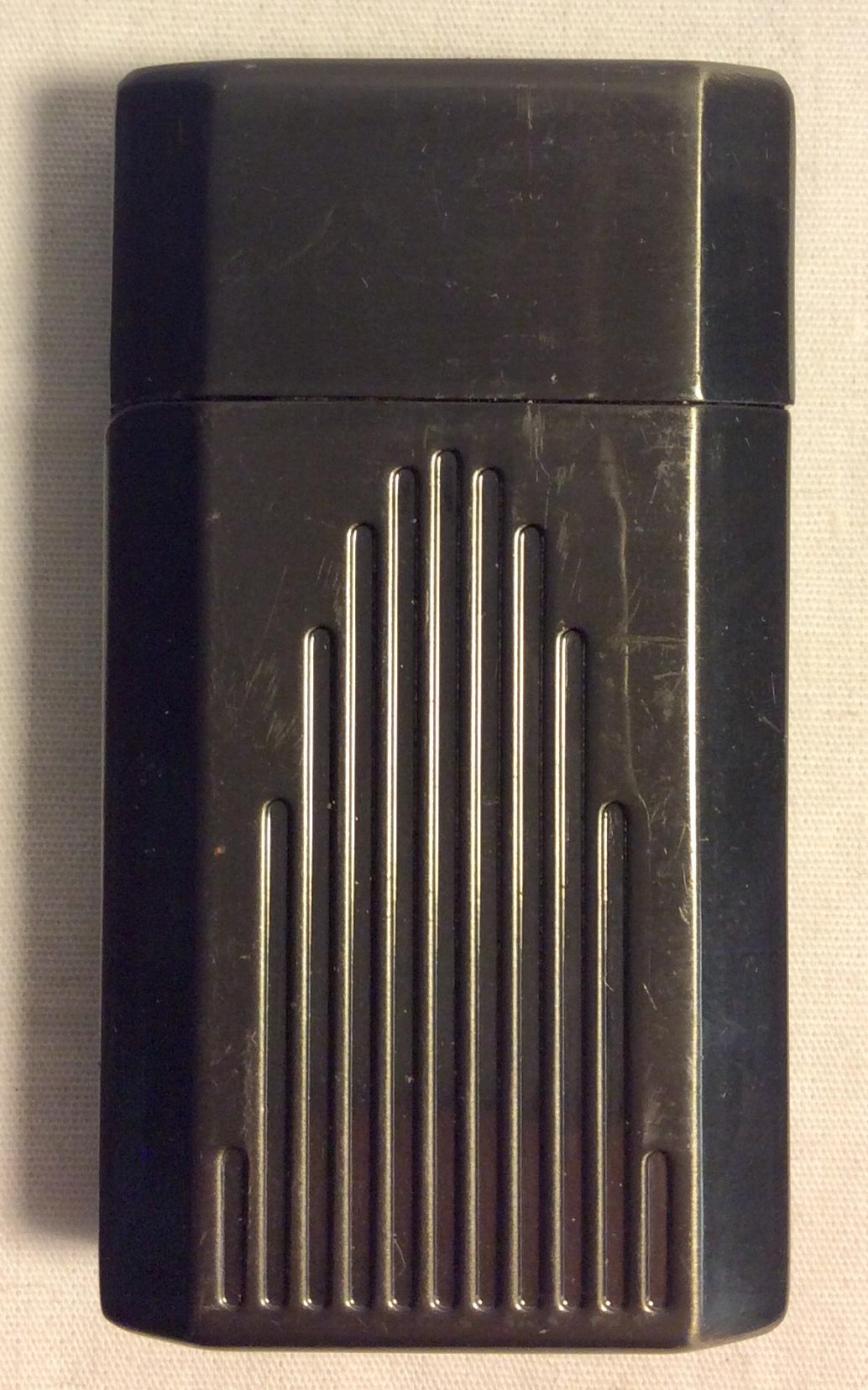 Ronson Gun metal stainless steel