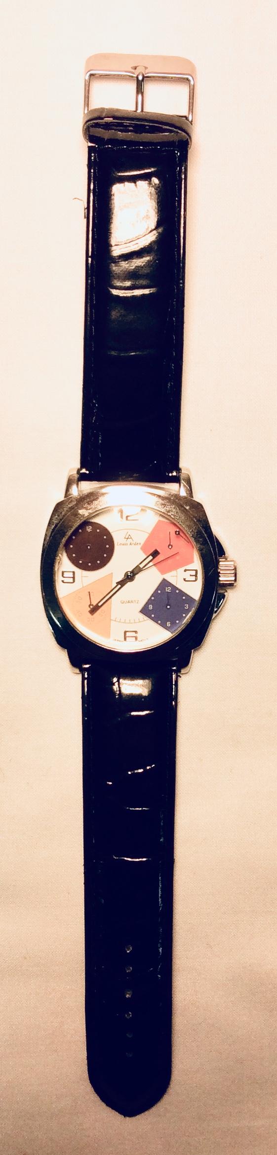 Geometric shapes watch