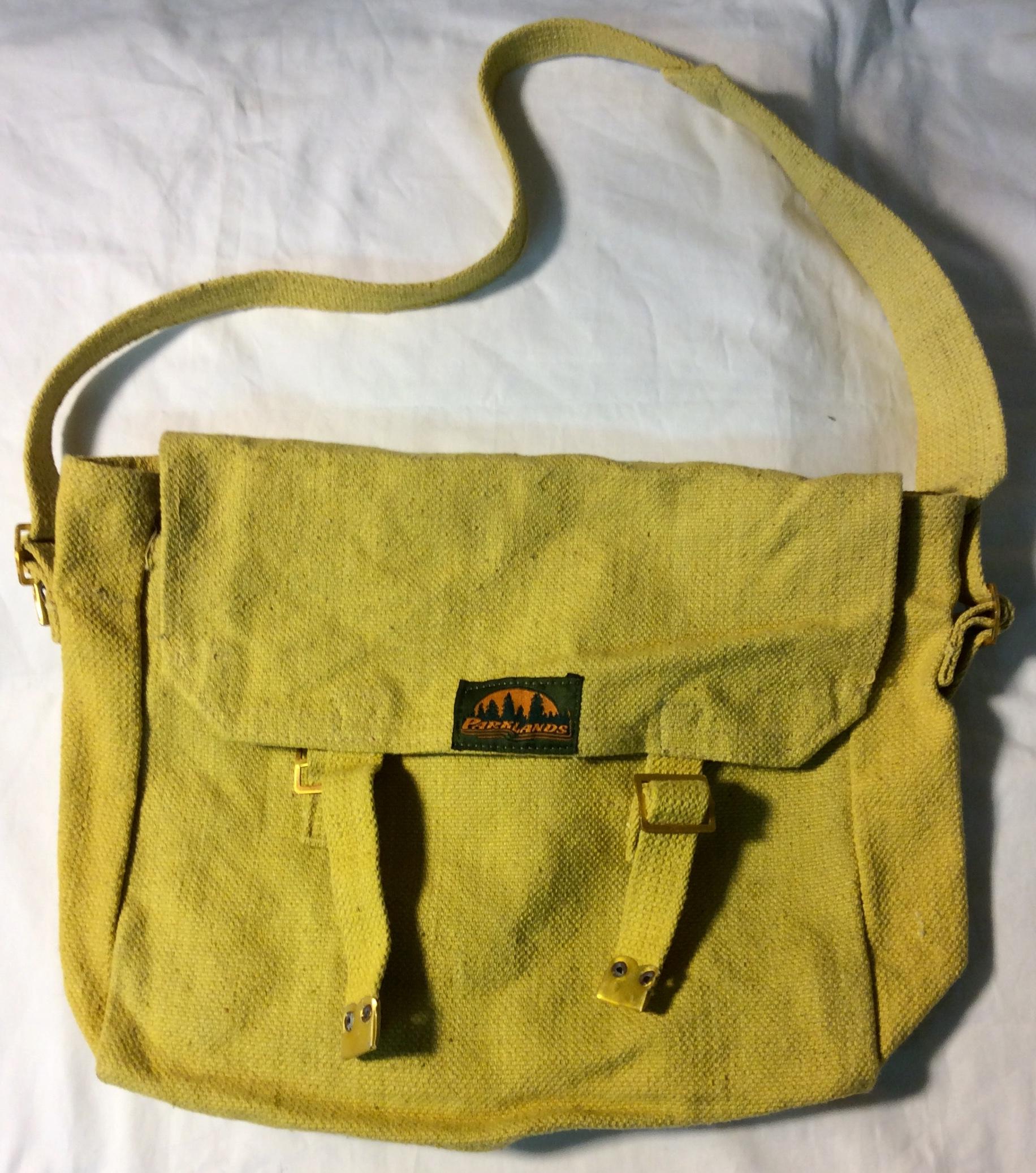 Parklands Yellow woven bag