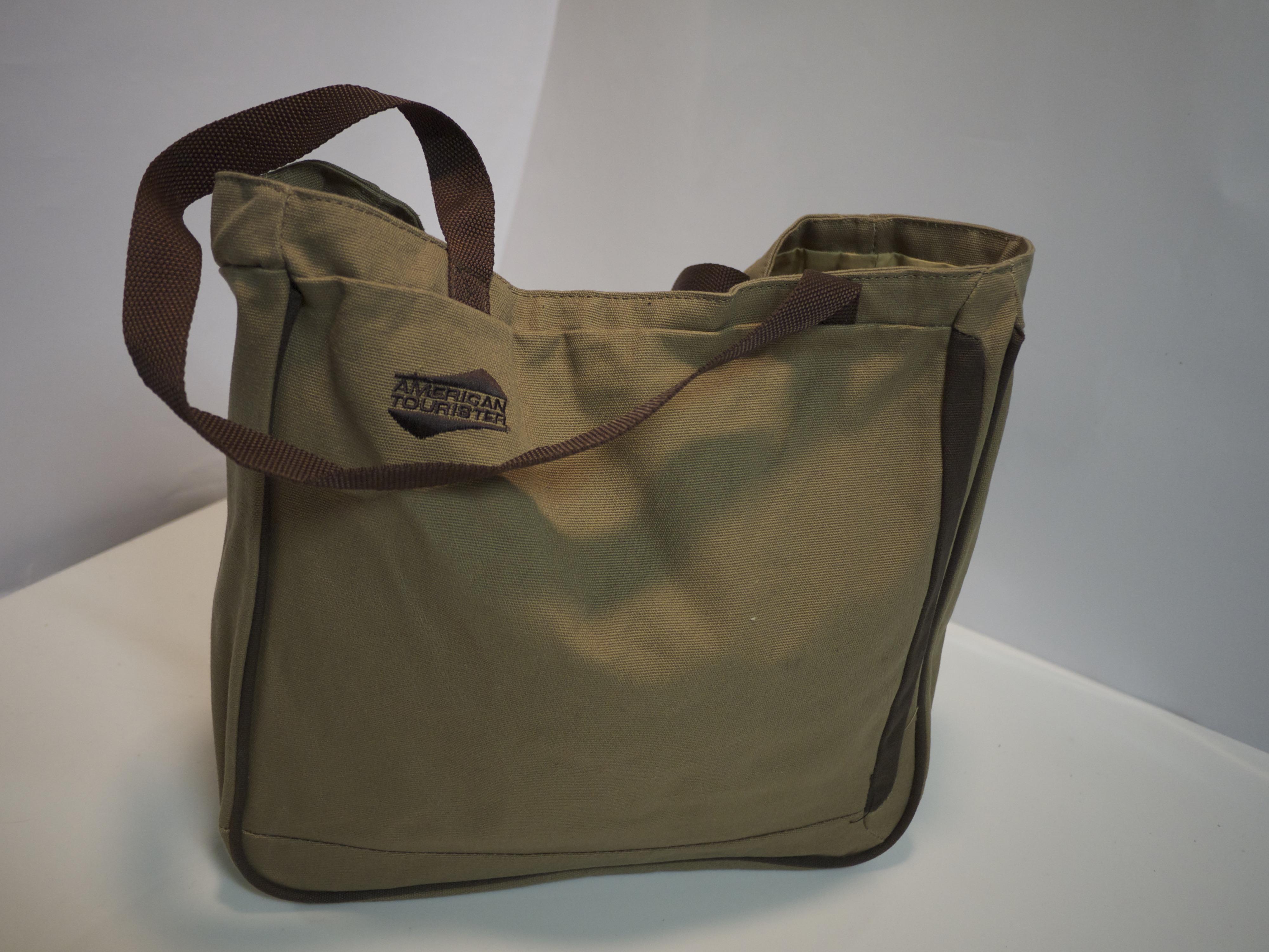 Light brown cloth bag