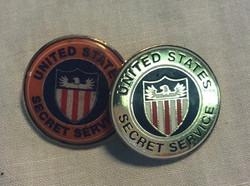 US Secret Service Pin