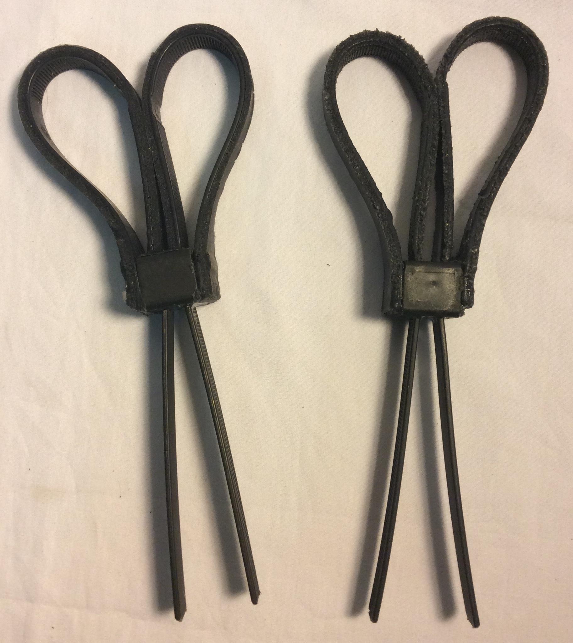 Fake Zip Tie Handcuffs