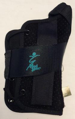 Black wrist splint