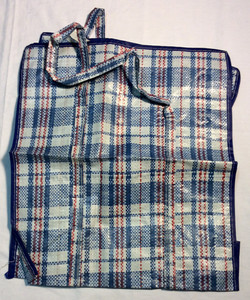 """16""""x18"""" Blue and red plaid"""