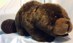 Stuffed beaver large