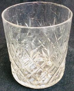 Scotch glasses (diamond shapes)