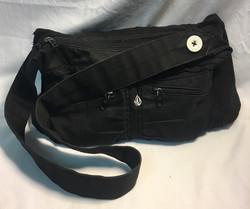 Volcom Black fabric purse