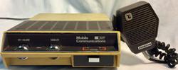 Vintage Johnson PPL 6060 UHF FM Transceiver PPL 6000 with mic
