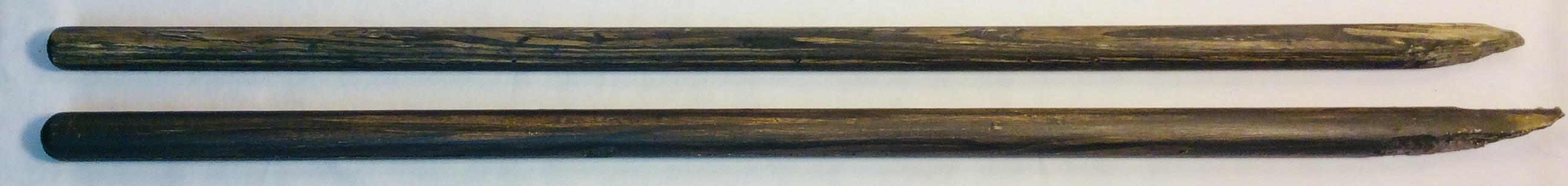 """Bamboo stick 27"""" x2 real x2 rubber"""