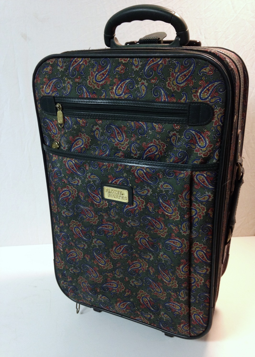 Paisley Patterned Suitcase