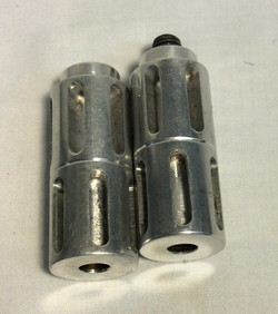 Silver Silencers (x2)