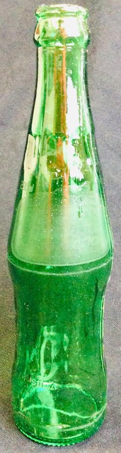 Green Pop Bottles