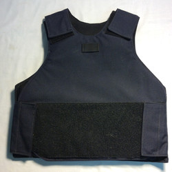 Black velcro SWAT vest