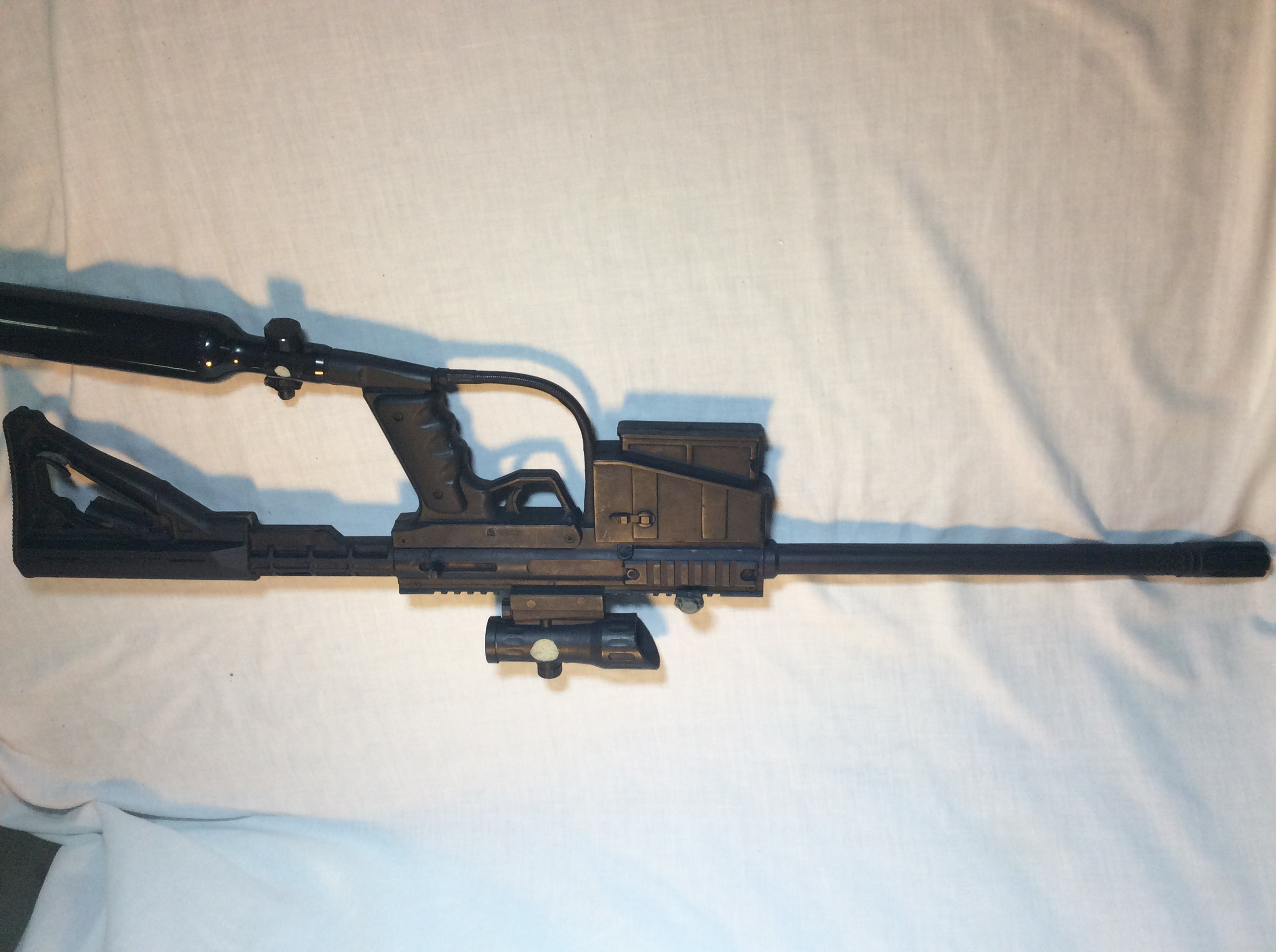 Rubber Tranq gun