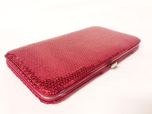 Red Sequin Wallet