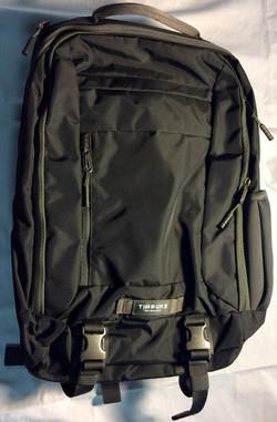 TIMBUK2 Black back pack with grey