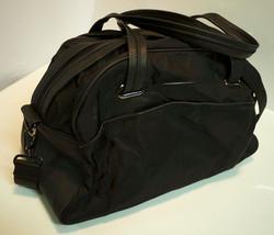 Sm/Med black travel bag