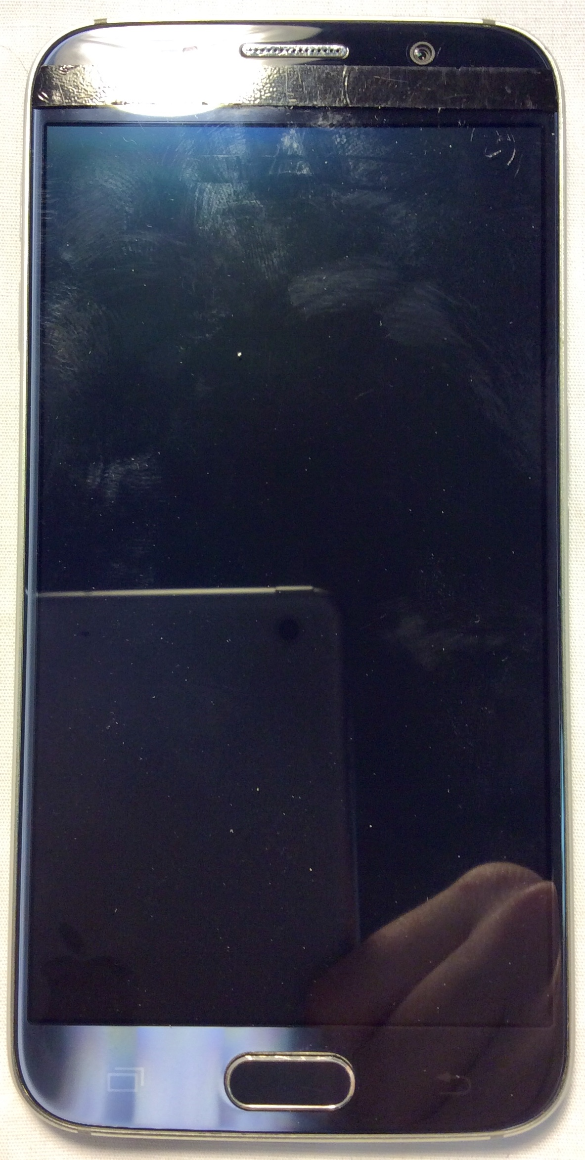 Samsung Galaxy S6, navy & silver