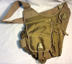 Military green shoulder bag
