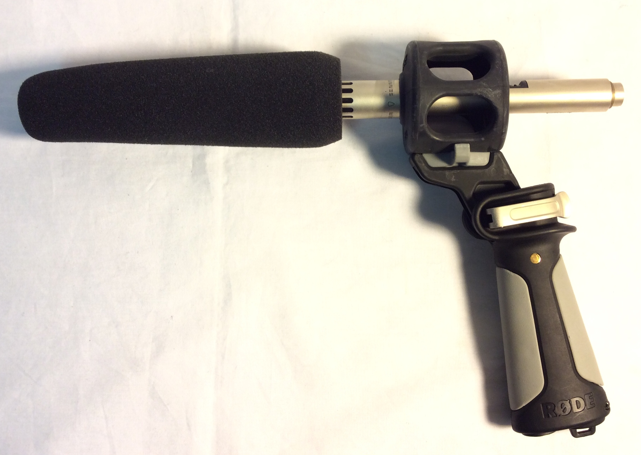 Shotgun Microphone with shock mount