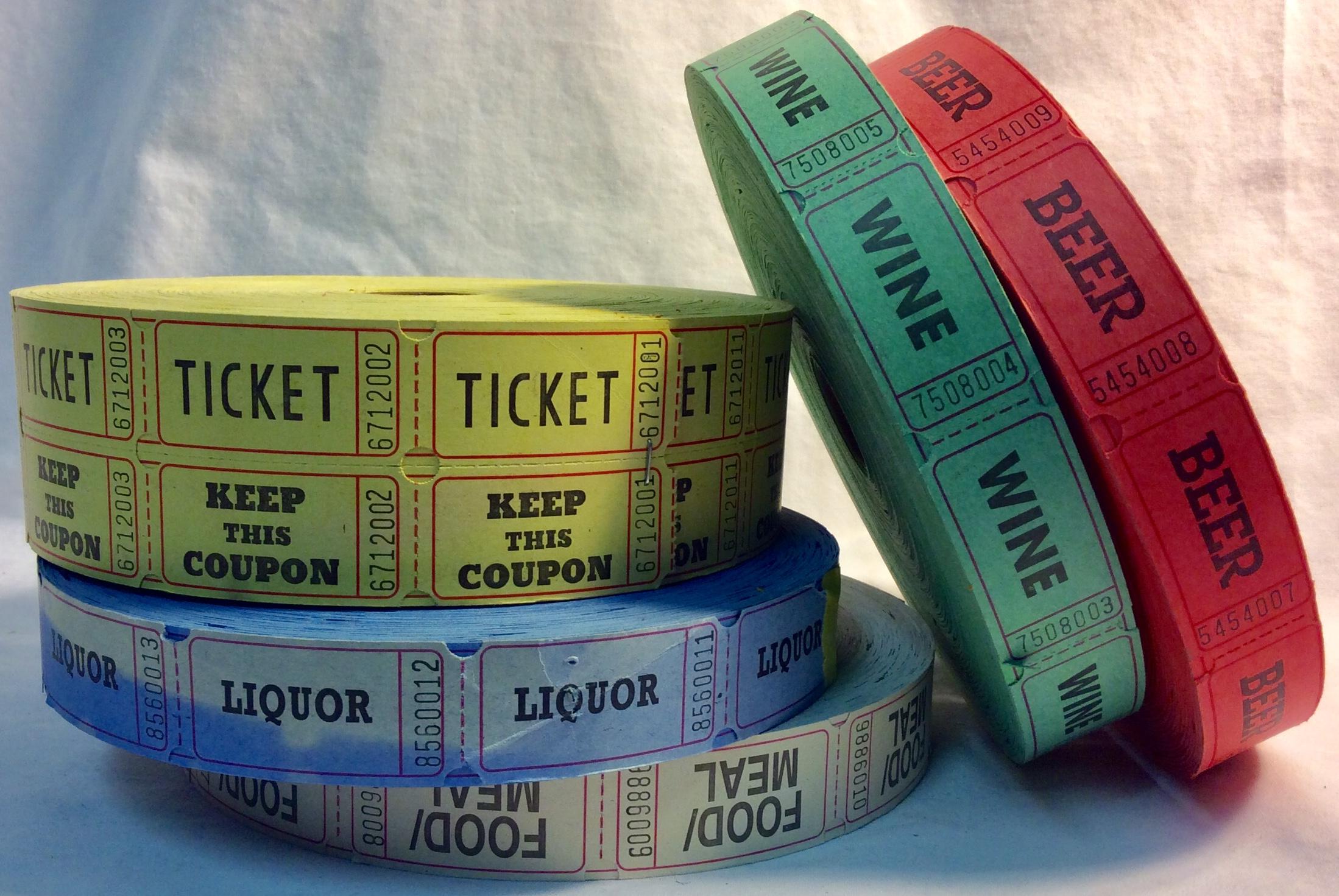 Fair assorted tickets
