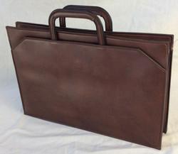 Stylish slim modern laptop handbag
