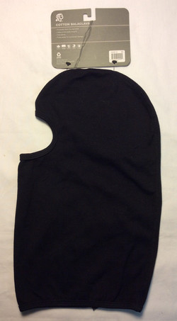 Black Cotton Balaclava