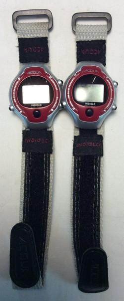 Acqua watch - digital face- round