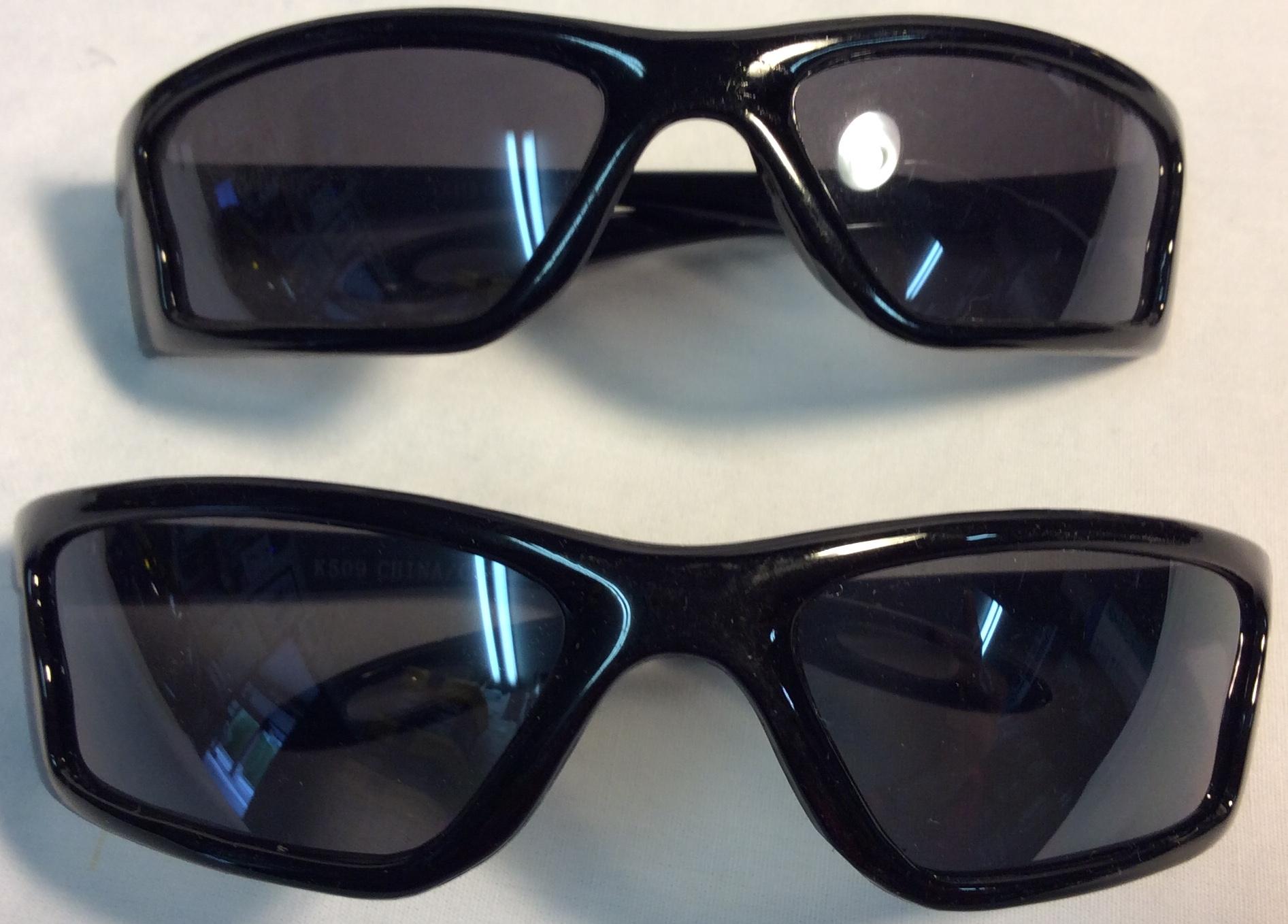 Kid sport style sunglasses