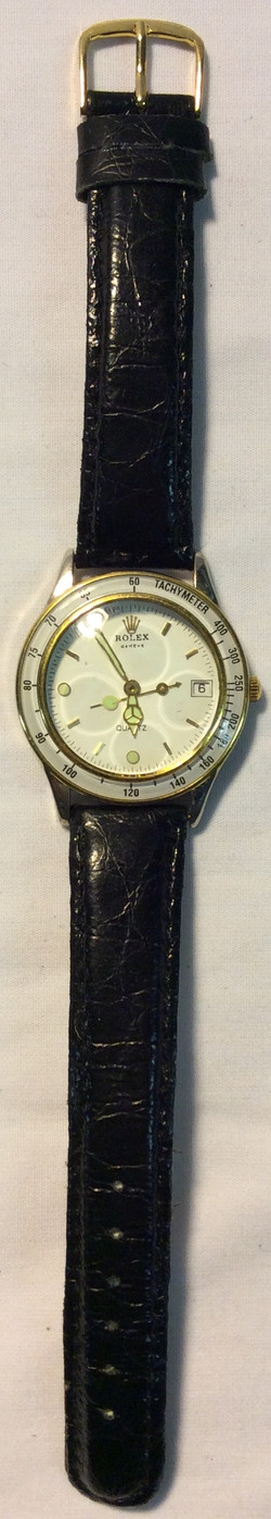 Rolex Stainless steel back