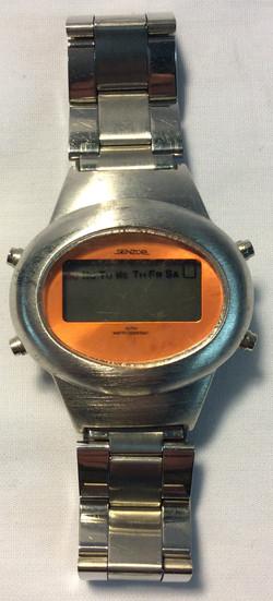Senzor Orange face, silver casing
