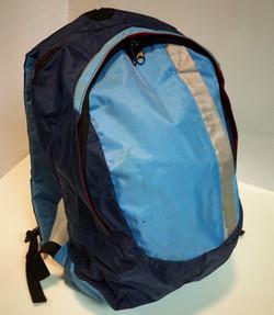 Blue/Baby blue backpack