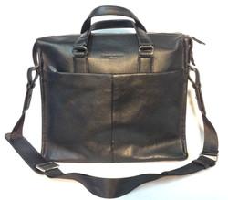 Black leather Campo Marzio shoulder
