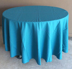 "90"" Diameter Table Cloths - green"
