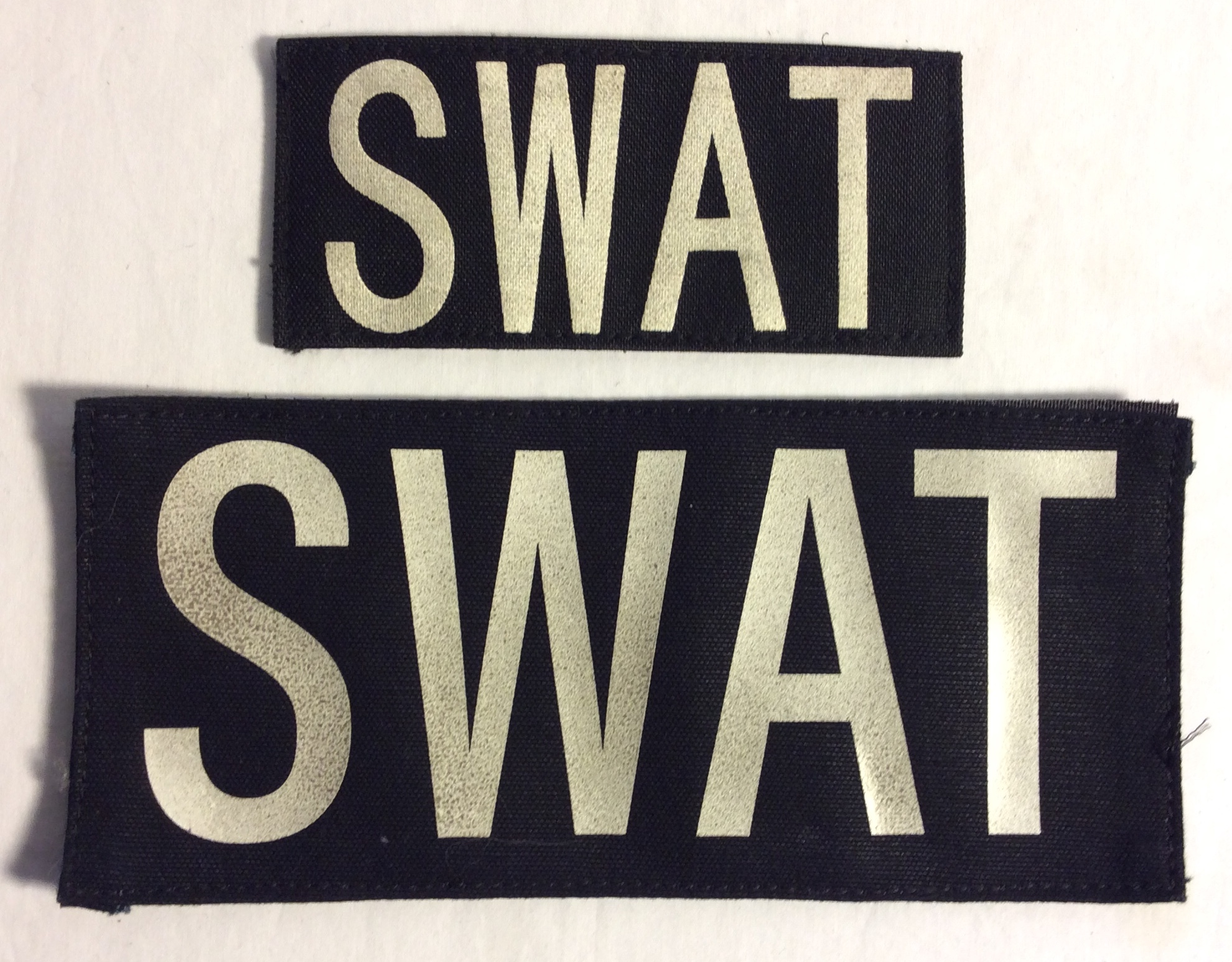 SWAT Velcro Patches (lightly Aged)