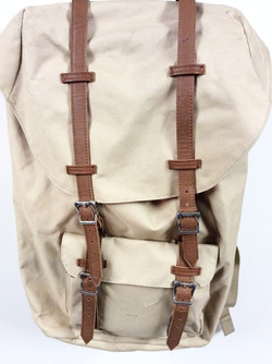 Canvas/Leather backpack