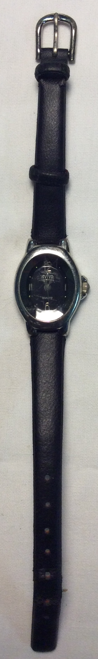 Aviva watch - Oval black face