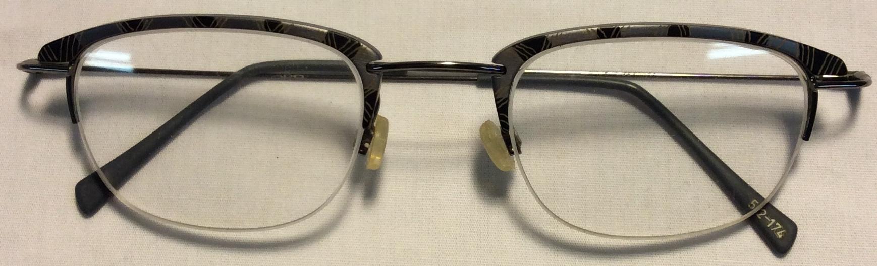 Mikado Thin silver metal frames