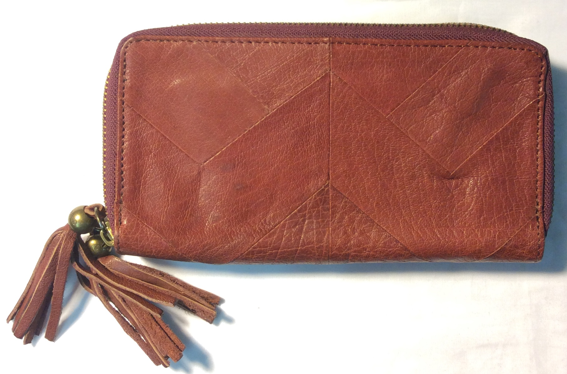 Lucky Brand Deep red/maroon leather