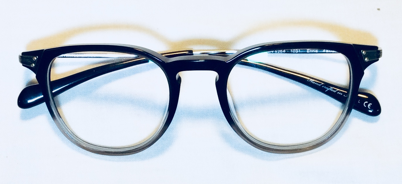 Black and Clear rimed ARL glasses