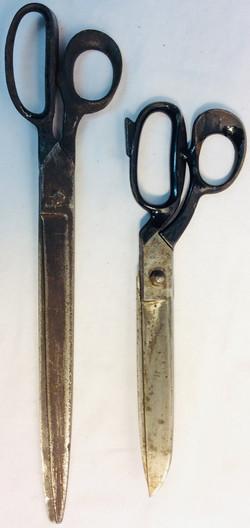 Aged scissors