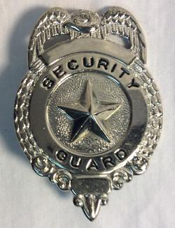 Security Guard Badges
