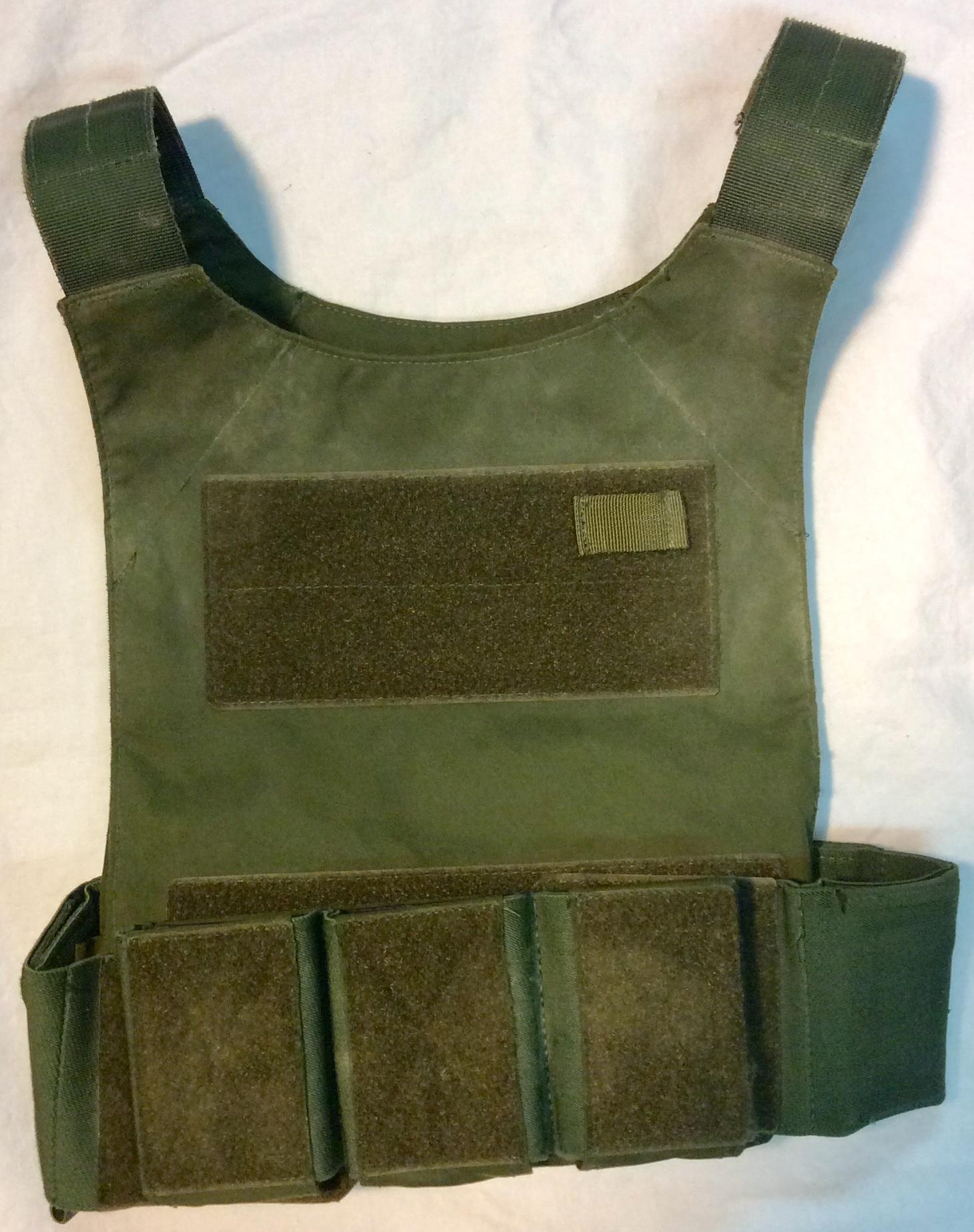 Army Green kevlar vest